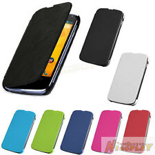 New Leather Case Flip Back Cover Wallet Folio Guard For LG Google Nexus 4 E960