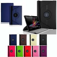 New 360° Rotating leather PU Stand Case Cover for Sony Xperia Tablet  Z2 10.1