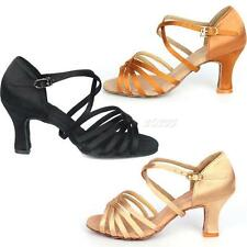 Hot Sale 5 cm High Heel Adult Female Latin Modern Ballroom Dancing Shoes JMHG