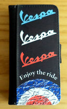 Vespa Scooter iPhone 4/5 Flip Case, PU Leather, Vespa Rally, Sprint, GS, SS, PX