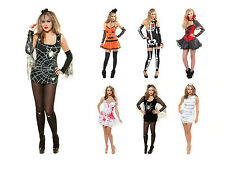 ROLEPLAY Ladies Womens Fancy Dress Up Halloween Outfit Adult Hen Party UK 8-20