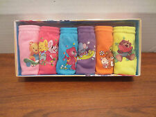 6 PAIRS OF LITTLE GIRL UNDERWEAR PANTIES DIFFERENT SIZES TO CHOOSE FROM