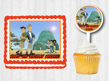 WILD KRATTS Edible Birthday Party Cake Topper Cupcake Plastic Cupcake Pick