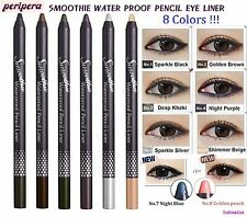 [PeriPera] SMOOTHIE WATER PROOF PENCIL EYE LINER,U Pick 6 Colors,NIB
