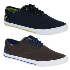 BB MENS VOI JEANS FIERY PATENT LACE UP CANVAS PUMPS TRAINERS SHOES SIZE 6-12