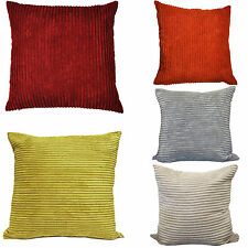 JUMBO Cord Scatter Cushions - 2 Sizes Small & Large - Sofa Chair Bed Cushion