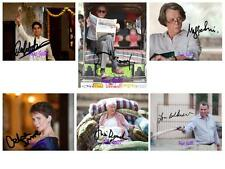 Best Exotic Marigold Hotel (1-6 Set) SIGNED AUTOGRAPHED 10X8 REPRO PHOTO PRINT