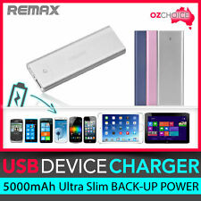 REMAX 5000mAh Portable Backup Battery Charger Rechargeable External Power Bank