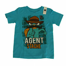 GAP boys Agent Stache T-Shirt  4-5 years , 8-9 years, Cotton