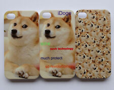 wow so revolutionary dog iDoge Shibe Doge Pattern iPhone 4 4s Hard Case Cover