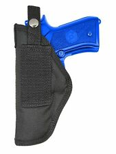 New Barsony OWB Gun Belt Loop Holster for Smith & Wesson Full Size 9mm 40 45