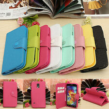 Flip Leather Card Wallet Phone Case Cover Stand For Samsung Galaxy S5 i9600 G900