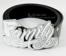Cowgirl Famous Stars Straps Family F Metal Buckle Genuine Leather Belt Ladies