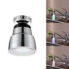 360° Rotating Automatic 7-Color/ Temperature Sensor Control RGB LED Water Faucet