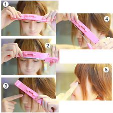 New Level Instrument Hair Bangs Cut Trim Rotating Level Hair Clippers aaa_happy
