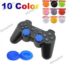 2x For XBOX ONE 360 PS4 3 Controller Silicone Analog Grip Thumb stick Cap Cover