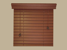 "2"" Elegant Fauxwood  Blinds - Size - 21 3/4"" W x 22 1/4"" L - 5 Beautiful Colors"