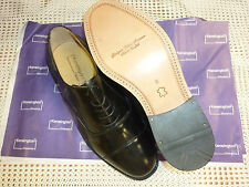 "OXFORD SHOES ""KENSINGTON"" BLACK LEATHER VARIOUS SIZES NEW IN BOX"