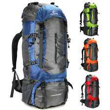 Men Women Outdoor travel camping hiking backpack big capacity 80L carried 20KG