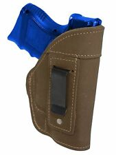 NEW Barsony Olive Drab Leather IWB Gun Holster for S&W, M&P Compact 9mm 40 45
