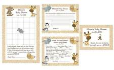 Baby Jungle Animals Shower Package #1