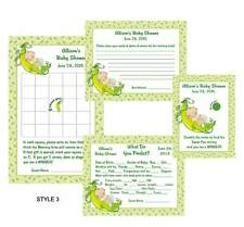 "Pea in the Pod ""Sweet Pea"" Baby Shower Game Package #1"