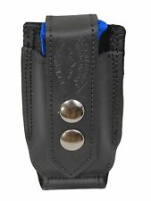 NEW Barsony Black Leather Single Mag Pouch Star Bersa 380 & Ultra Compact 9mm