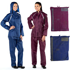 ProClimate 2045 Ladies Womens Waterproof Suit Hooded Jacket & Trousers Size S-XL