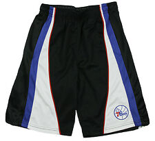 Zipway NBA Mens Tall Philadelphia 76ers Basketball Shorts - Black