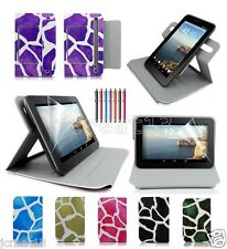 "Draft Leather Case Cover+Gift For 7"" HP Slate 7 Extreme/Slate 7 HD Tablet TY9"