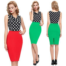 Women NEW Fashion Glam Homecoming Graduation Rockabilly Party Evening Prom Dress