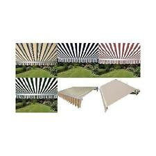 PATIO AWNING SOLID MULTIPLE COLOR VARIATION CANOPY TENT RV TENT SIZE VARIATION