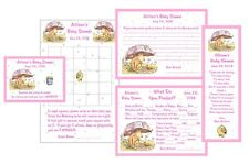 Classic Pooh Umbrella Baby Shower Game Package #2