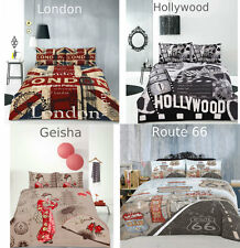 ARDOR RETRO Quilt Cover Set London| Hollywood| Geisha| Route 66| Queen/King Size
