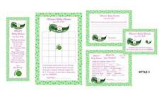 "Pea in the Pod ""Sweet Pea"" Baby Shower Game Package #2"