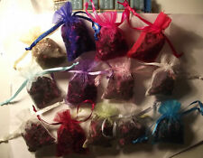 Real Dried Flower Biodegradable Confetti in Small Organza Bags Varieties (4)
