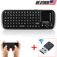 Wireless Remote Keyboard HTPC And TouchPad Mouse For METZ SMART TV Supported USB