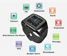 Bluetooth Sync Call Remote Take Photo Watch For Android iPhone 4 Samsung  Note2