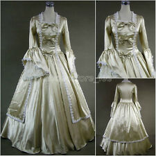 Classic Champagne Gold Victorian Gown Ball Lolita Dress Outfit Tailor Made