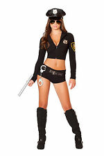 Officer Costume Cop Costume Police Woman Costume 4500 Halloween Cop Costume