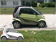 Smart Fortwo side decal graphics 450 451 passion cabrio