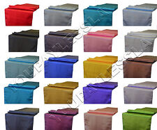 """12"""" x 108"""" Satin Table Runner Wedding Party Decorations LOT 1/5/10/15/20/30 US"""