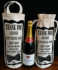 WEDDING BEST MAN GIFT THANK YOU FOR BEING OUR BEST MAN