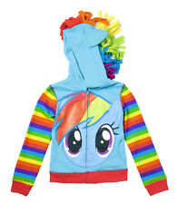 My Little Pony Rainbow Dash Striped Youth Costume Hoodie Sweatshirt