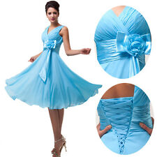 ❤2014 Summer NEW Bridesmaid Evening Party Ball Gown Homecoming Short Mini Dress❤