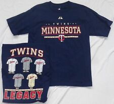 Minnesota Twins Baseball Youth  Jerseys Legacy Short Sleeve T-Shirt Navy