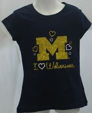 Michigan Wolverines Youth Short Sleeve T-Shirt Campus Couture Navy