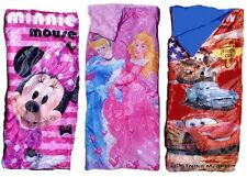 Disney Sleeping Bag - Cars, Minnie Mouse, Princess 150 x 65 cm