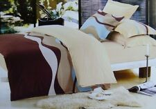 350TC 100% Cotton Doona Quilt Cover Set For Queen & King Bed - Charm