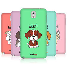 HEAD CASE HAPPY PUPPIES BATTERY BACK COVER FOR SAMSUNG GALAXY NOTE 3 N9000